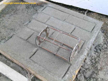 Diggers Dumpers Plant Concrete Pattern Roller