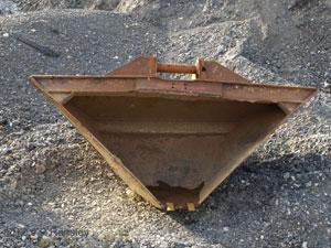 digger buckets, excavator buckets, homemade digger bucket, homebuilt