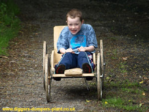 Homemade Go Cart Dilly Trolley Bogey Buggy Cart Www