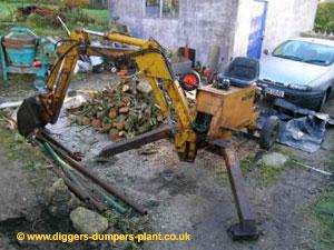 Fleming Micron mini digger, backhoe restoration, manual and